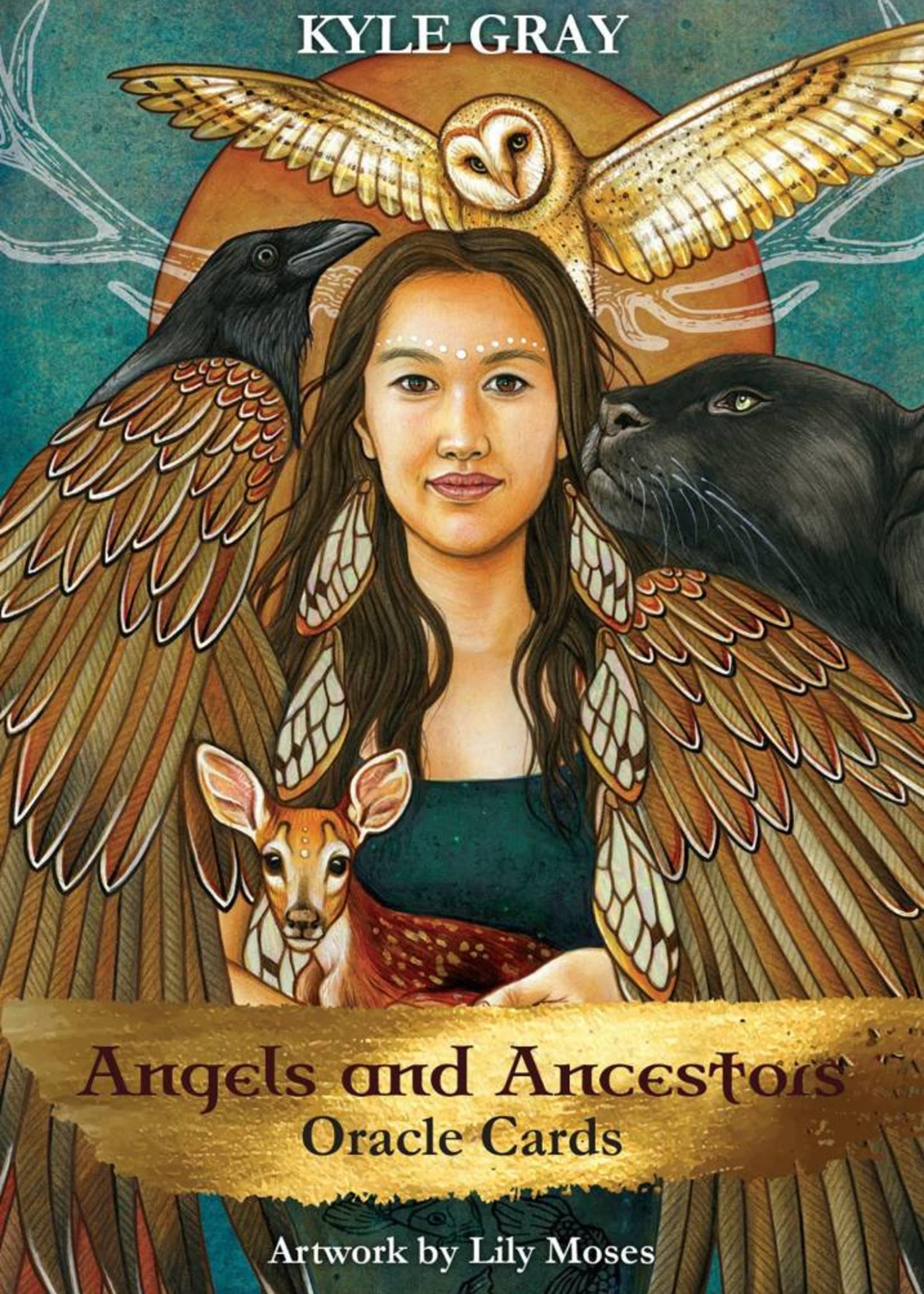 Angels and Ancestors Oracle Deck and Guidebook