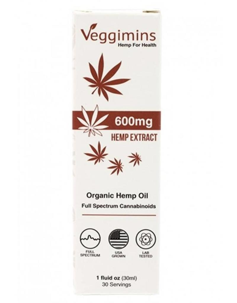Organic Hemp Oil 600mg