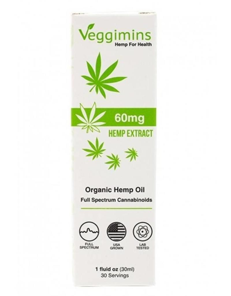 Organic Hemp Oil 60mg