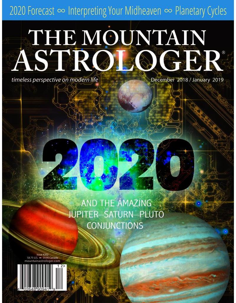 The Mountain Astrologer 2020 | And The Amazing Jupiter-Saturn-Pluto Conjunctions