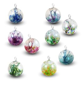 Hand Blown Glass Dreamcatcher