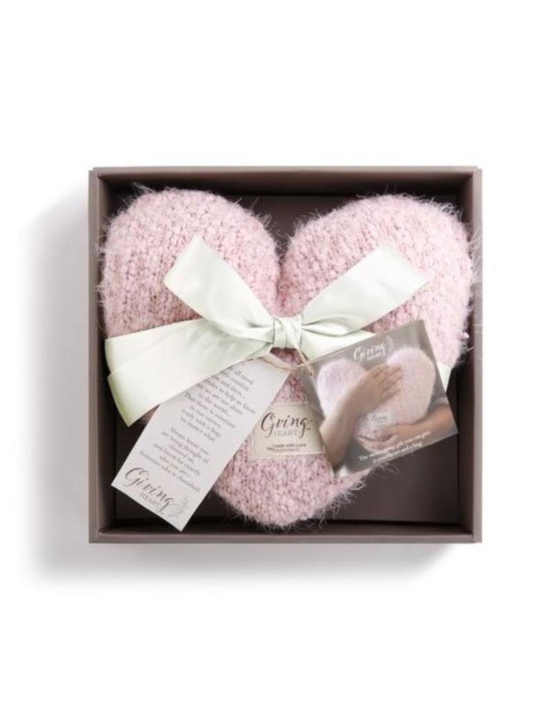 Pillow Giving Heart Pink