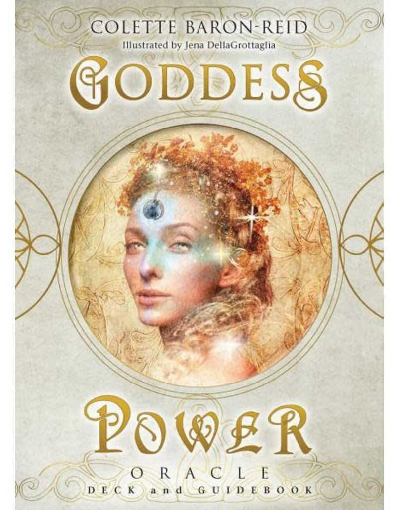 Deck Goddess Power Oracle: Deck and Guidebook