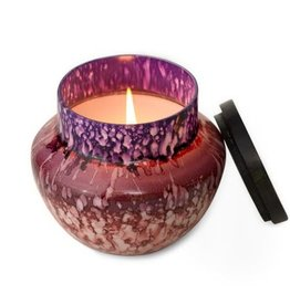 Watercolor Glass Candle