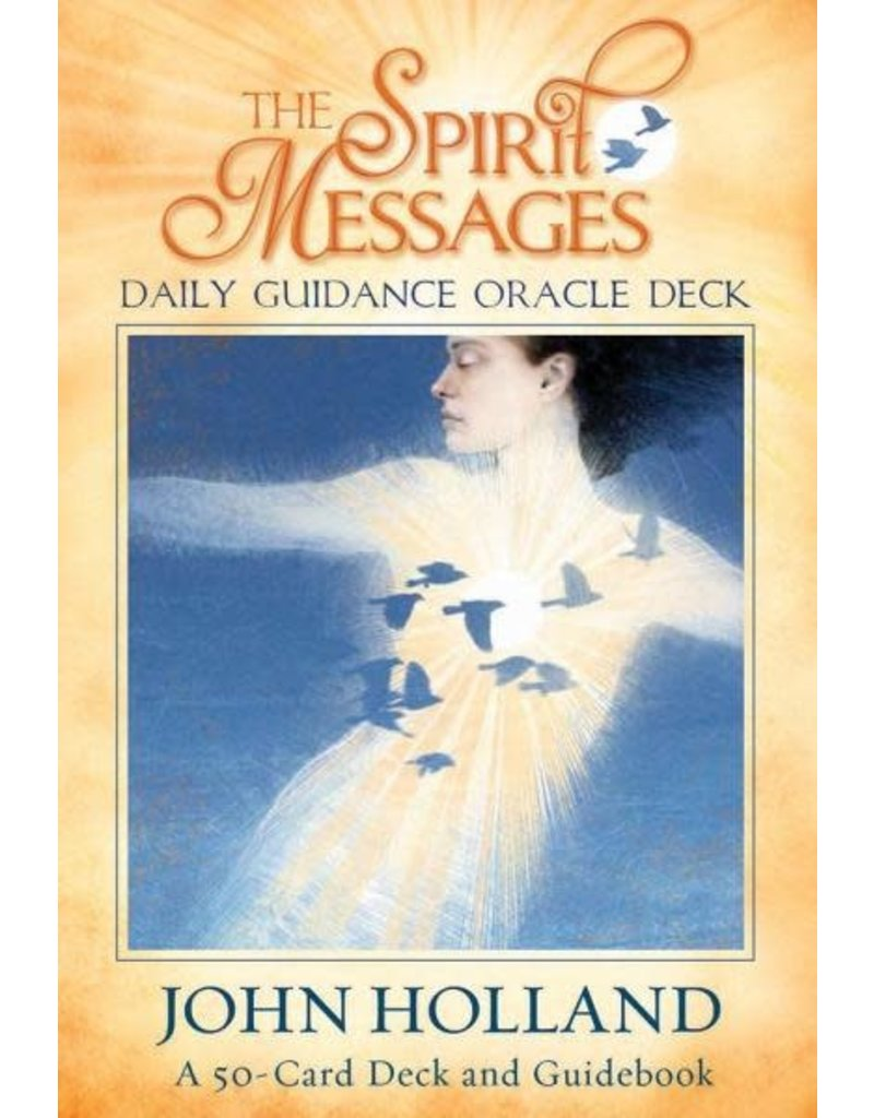 LIFE* Deck Spirit Messages Daily Guidance Oracle: A 50-Card Deck and Guidebook