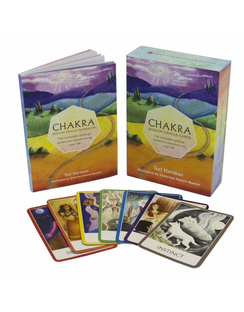 Chakra Wisdom Oracle Cards: The Complete Spiritual Toolkit for Transforming