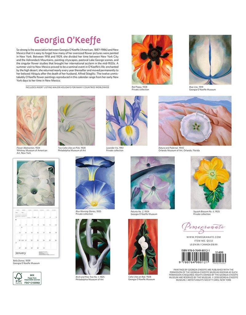 2019 Georgia O'Keeffe Calendar