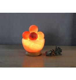 Massage Ball Fire Bowl Lamp
