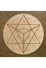 "Crystal Grid Wood 12"""