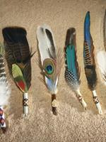 Ceremonial Smudge Feather Fans