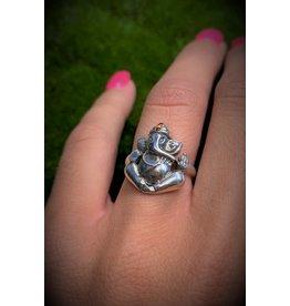 Ganesh w/ Garnet Ring (7)