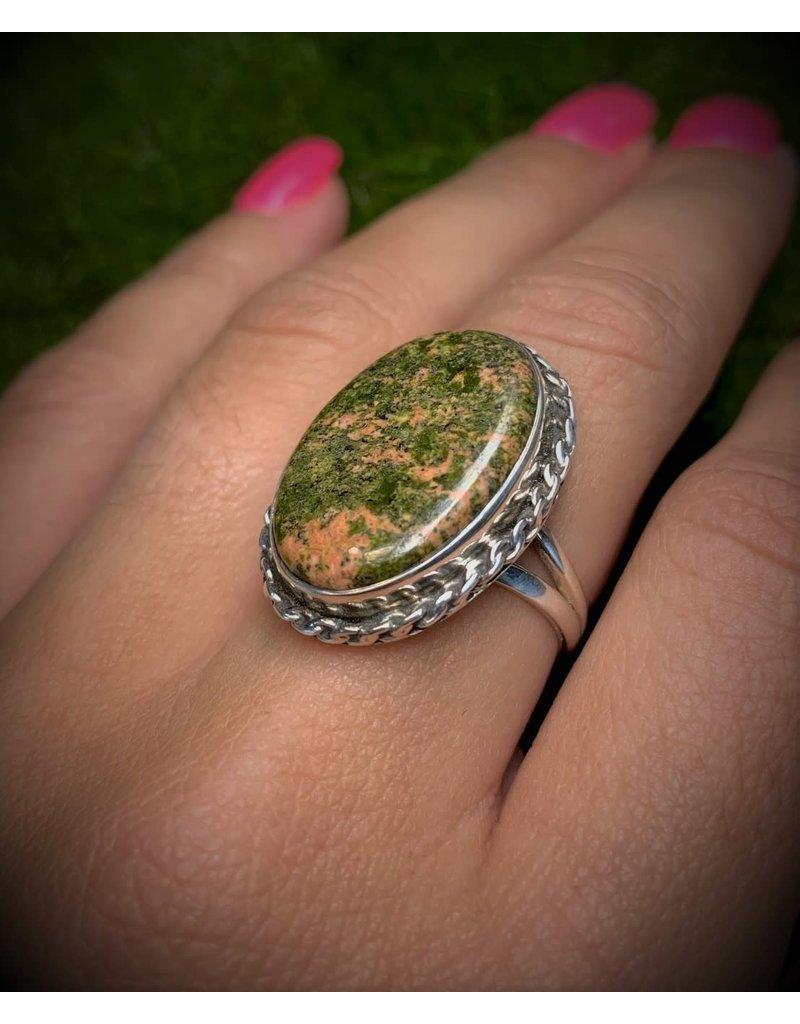 Unakite Ring (8)