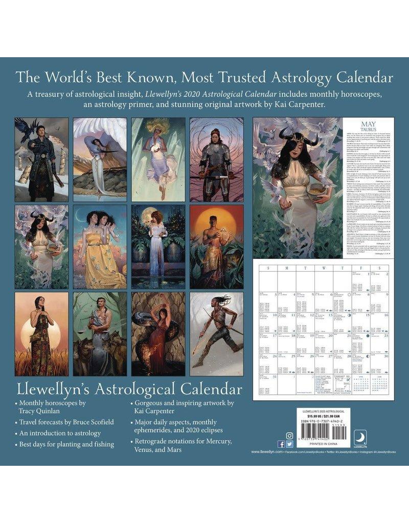 Cal 20 Llewellyn's 2020 Astrological Calendar: 87th Edition / Wall