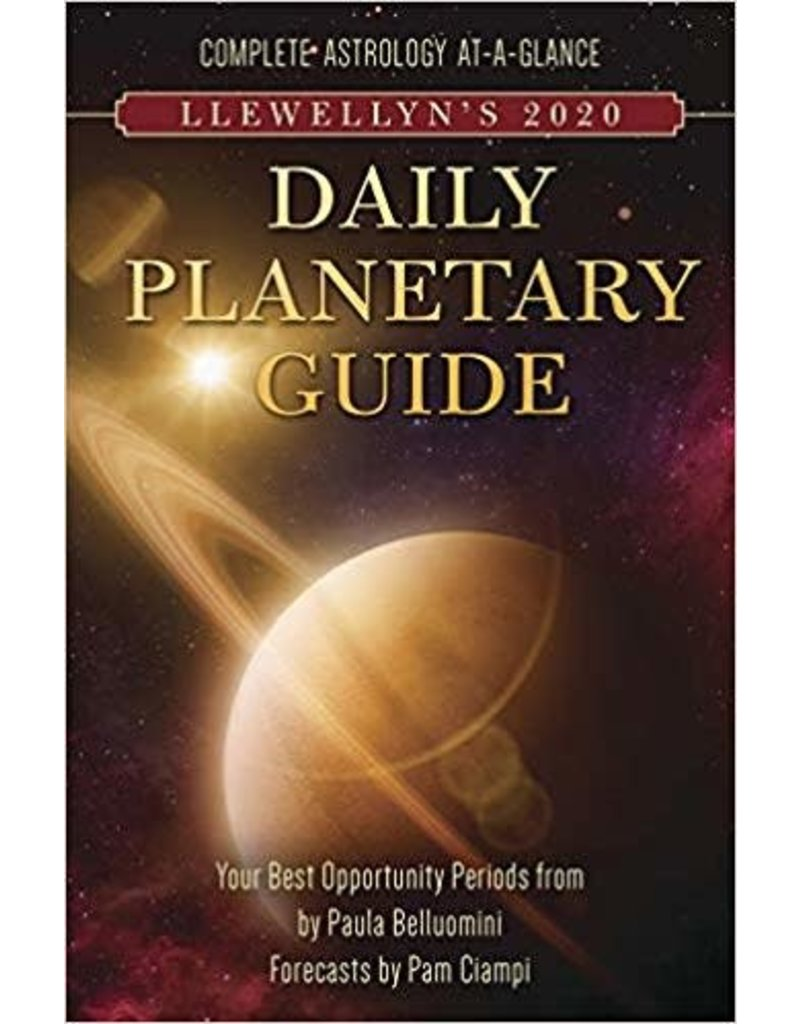 CAL 20 Llewellyn's 2020 Daily Planetary Guide: Complete Astrology At-A-Glance