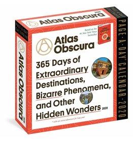 2020 Atlas Obscura Page A Day Calendar