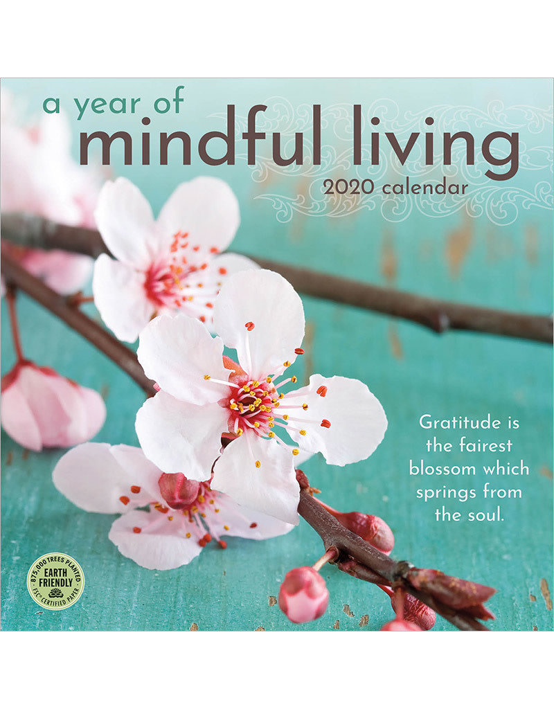 2020 A Year of Mindful Living Calendar