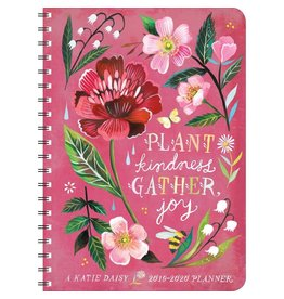 2020 Katie Daisy Plant Kindness Gather Joy Planner