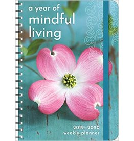 2020 A Year Of Mindful Living Planner