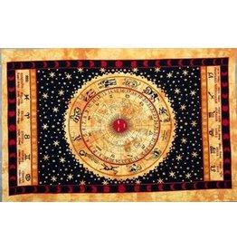 TAPESTRY Zodiac - Gold / Cotton / 60x90