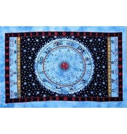 TAPESTRY Zodiac - Blue / Cotton / 60x90