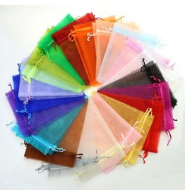 Bag 3X4 Organza Assorted