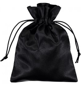 BAG SATIN 3X4 BLACK PLAIN