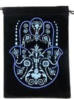 Black Velvet Embroidered Bags