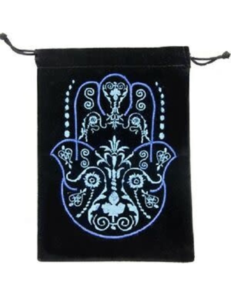 Black Velvet Embroidered Bags