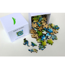 Puzzle Peapod Wooden