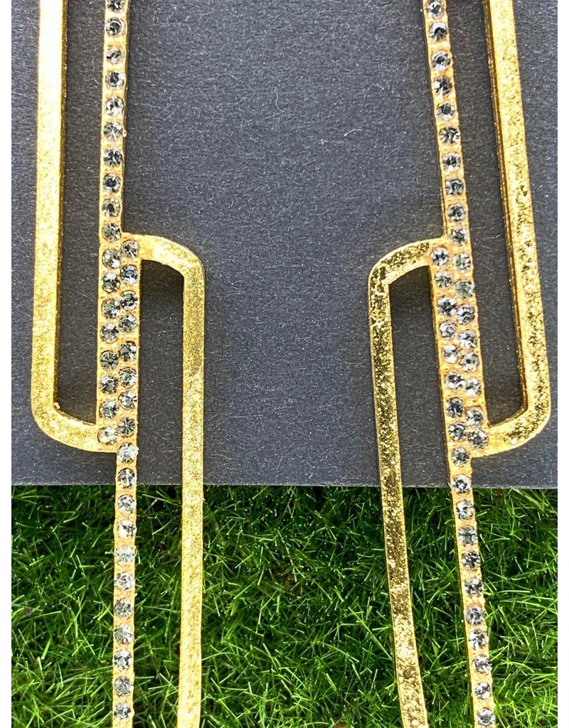 Rebel Diamond Swarovski Earrings