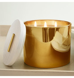 Frasier Fir 3 Wick Gold Candle