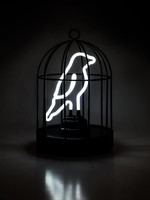 Lamp Neon Bird In A Cage