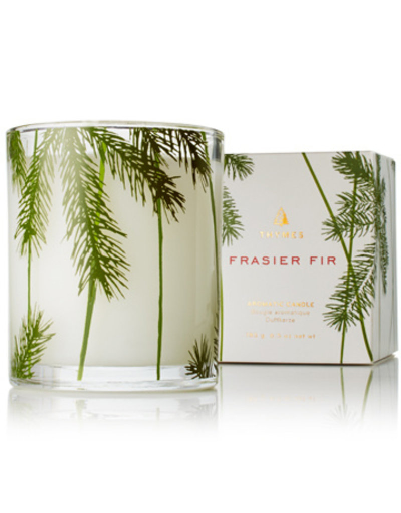 Frasier Fir Candle Poured Pine Needle Boxed 6.5 oz.