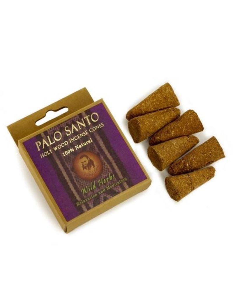 Palo Santo Palo Santo & Wild Herbs Cones