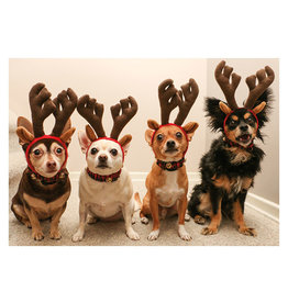 Card XMAS Reindogs