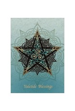 Card BX XMAS * Yuletide Blessings w/ Celtic Star