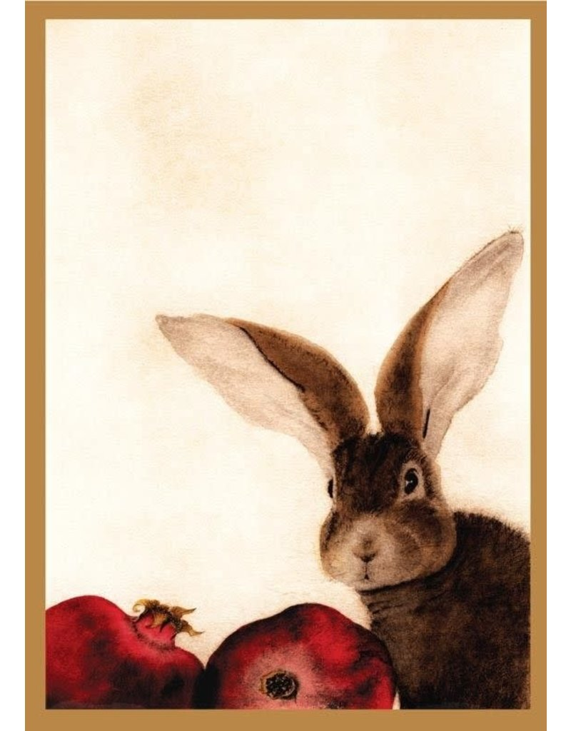 Card BX XMAS Rabbit & Pomegranates