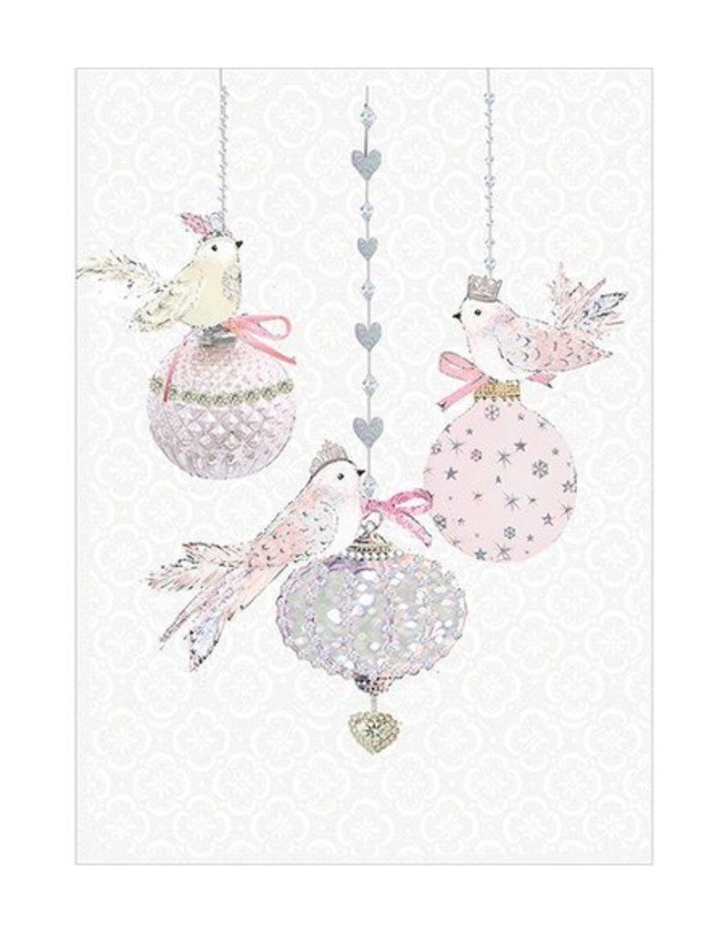 Card BX XMAS Christmas Ornamental