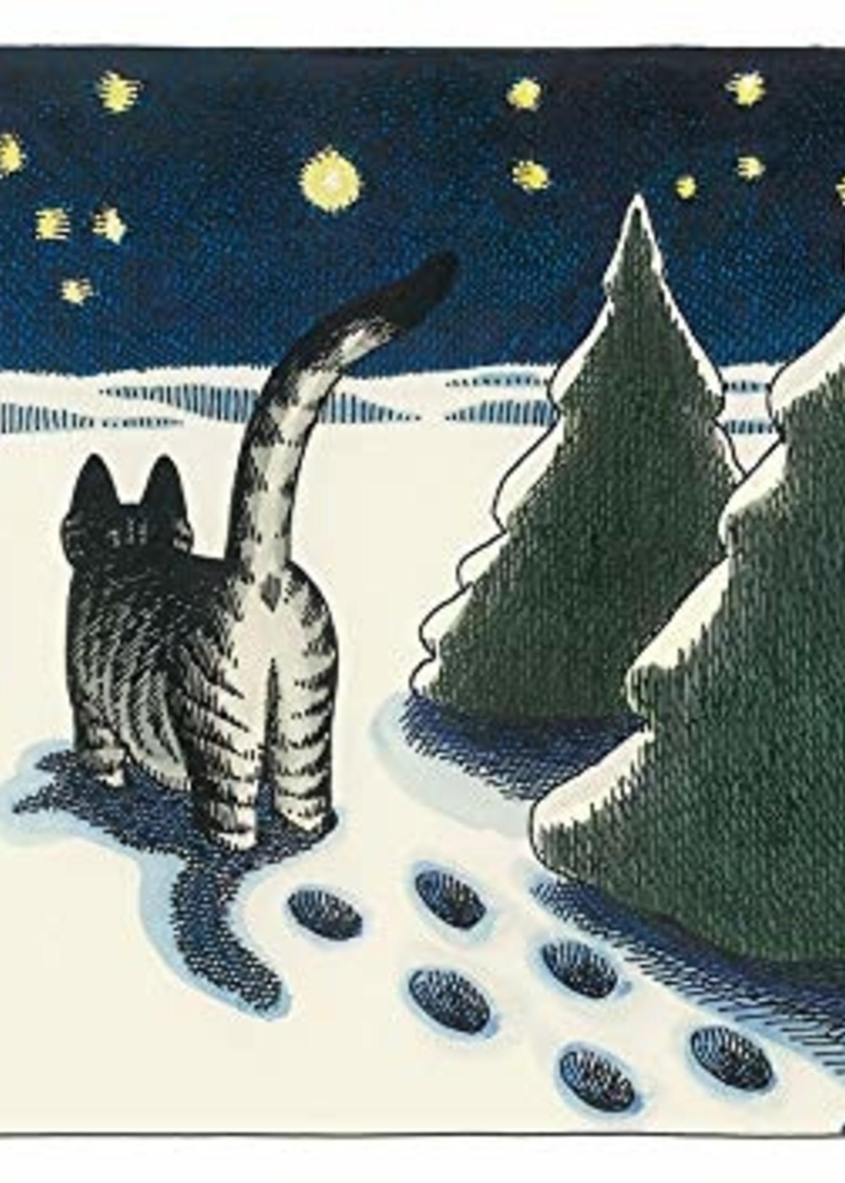Card BX XMAS Cat Noel B. Kliban