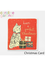 Card BX XMAS Cat & Gifts Have a Purrfect Christmas