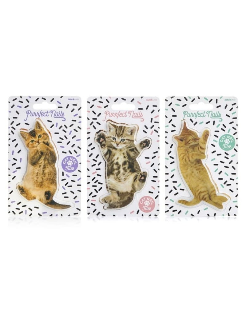 Suck UK Cat Nail File Asst Designs