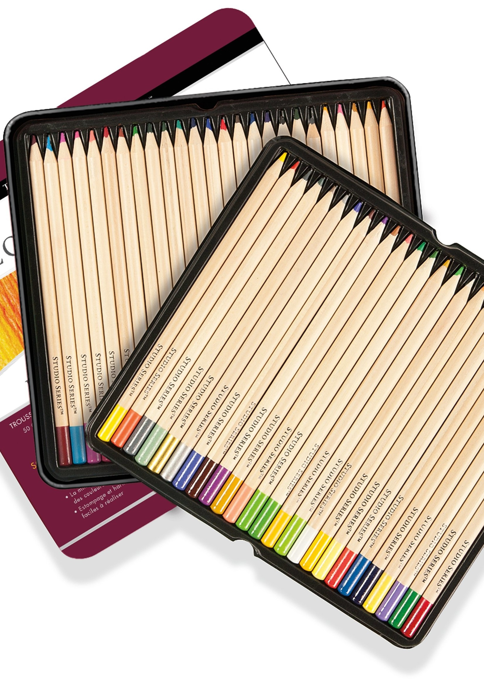 Deluxe Colored Pencil Set | 50 Count