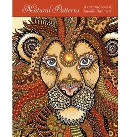 Coloring Book Natural Patterns by Janelle Dimmett