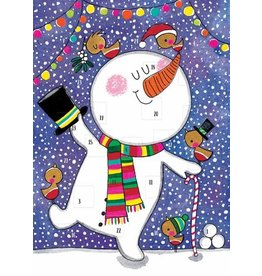 Card XMAS Advent Calendar Snowman