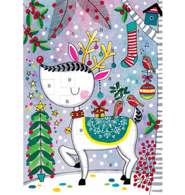 Card XMAS Advent Calendar Reindeer