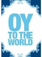 Card Hanukkah Oy To The World