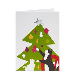 Christmas Cards Popup MoMa Unasawa Christmas Cats