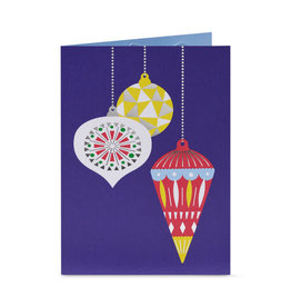 Christmas Cards Popup MoMa Okamura Holiday Ornaments