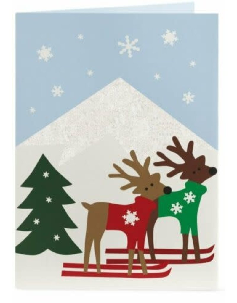 Christmas Cards PopUp MoMa Alpine Reindeer