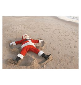Card BX XMAS Santa Sand Angel